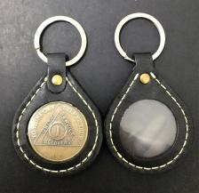 Double Sided Leather Holder