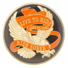 Live To Ride Medallion