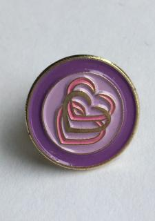My Heart Lapel Pin