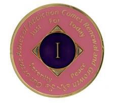 NA Medallion Pink