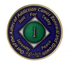 NA Medallion Blue W/ Green