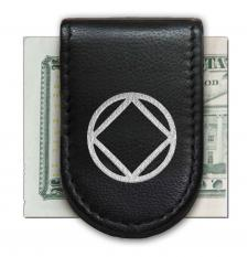 NA Black with Silver Magnetic Money Clip