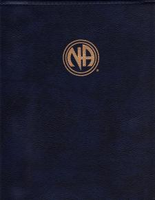NA Step Working Guides Cover - BLUE