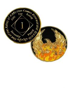 NA Out of Ashes Phoenix Year Medallion