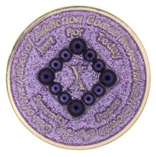 NA PR Bling Glitter Lavender