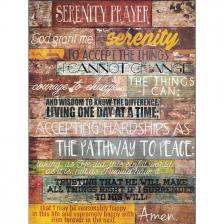 Serenity Prayer Wall Decor Plaque