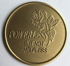 Powerless Bronze Medallion