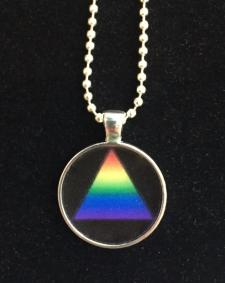 AA Unity Resin Necklace Rainbow