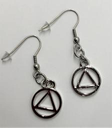 AA Silvertone Earrings