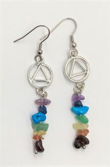 AA Earrings With Stone Beads