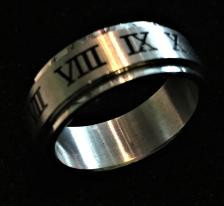12 Step Spinner Ring
