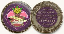 Sponsor Yellow Rose Medallion