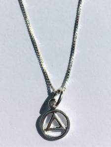 Sterling Silver AA Necklace