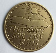 That My Soul May Soar! Bronze Medallion
