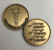 Treatment and Justice Bronze Medallion