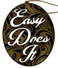 Easy Does It Ornament