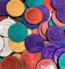 ROLLS OF 25 Bill & Bob Aluminum Chips