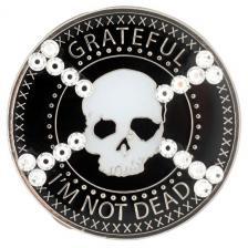 Grateful I'm Not Dead Bling Recovery Medallion w